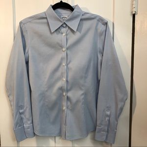 Brooks Brothers blue 346 button down shirt